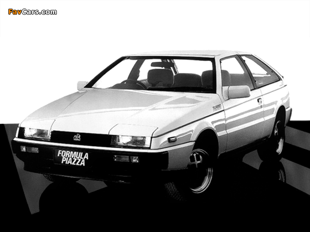 Holden Piazza Turbo 1986–87 wallpapers (640 x 480)
