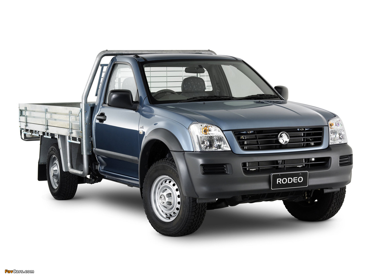 Holden Rodeo Single Chassis Cab 2003–06 images (1280 x 960)