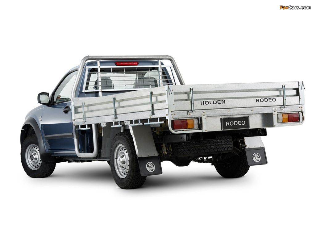 Holden Rodeo Single Chassis Cab 2003–06 photos (1024 x 768)
