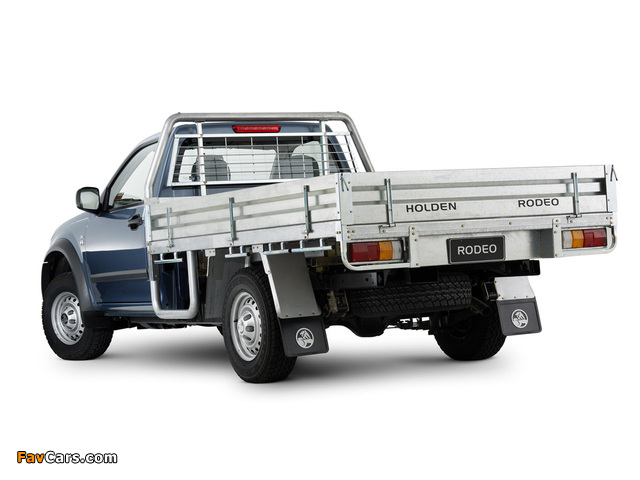 Holden Rodeo Single Chassis Cab 2003–06 photos (640 x 480)