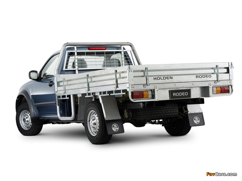 Holden Rodeo Single Chassis Cab 2003–06 photos (800 x 600)