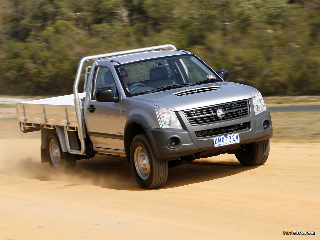 Holden Rodeo Single Chassis Cab 2003–06 pictures (1024 x 768)