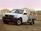 Images of Holden Rodeo Single Chassis Cab 2003–06