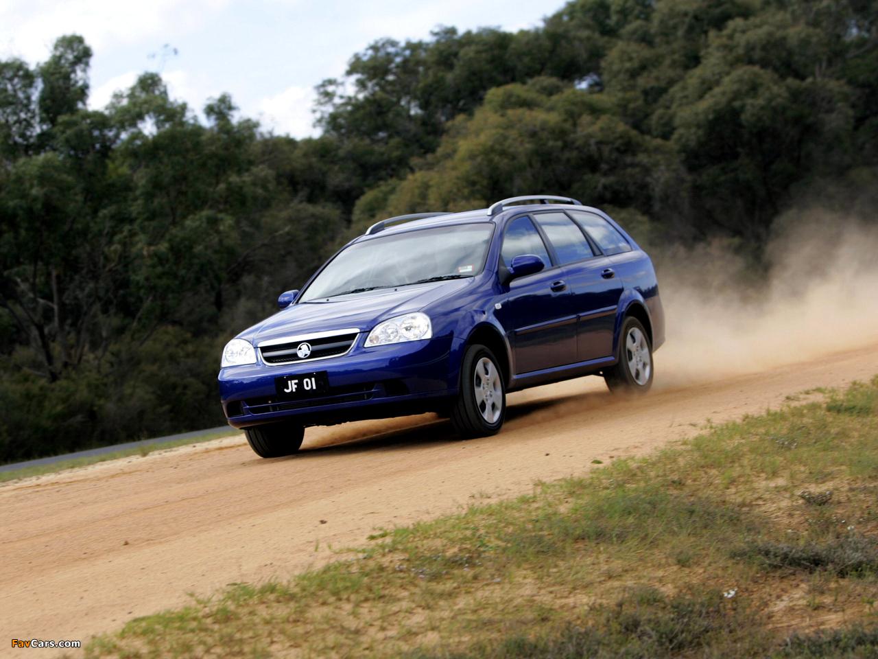 Holden JF Viva Wagon 2005 images (1280 x 960)