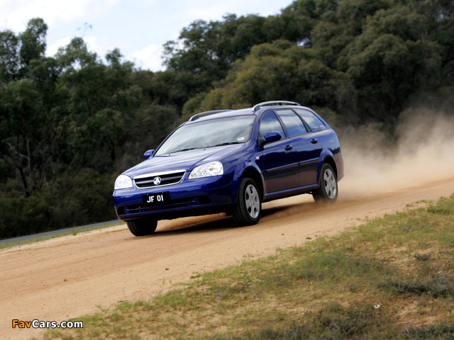 Holden JF Viva Wagon 2005 images (640 x 480)