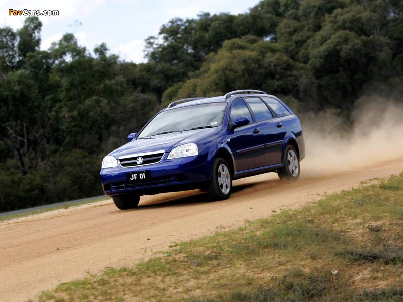 Holden JF Viva Wagon 2005 images (800 x 600)