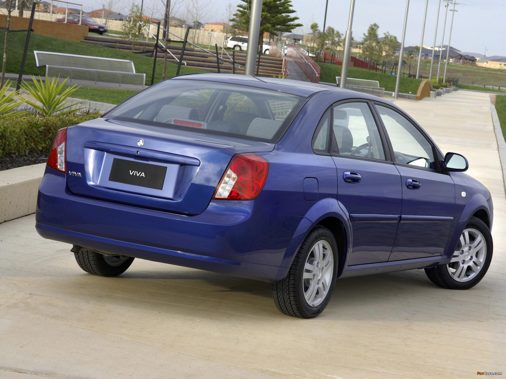 Holden JF Viva Sedan 2005 images (2048 x 1536)