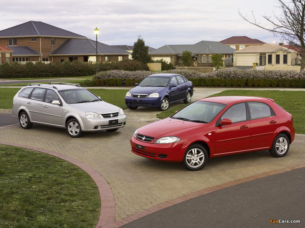 Holden Viva photos (1024 x 768)