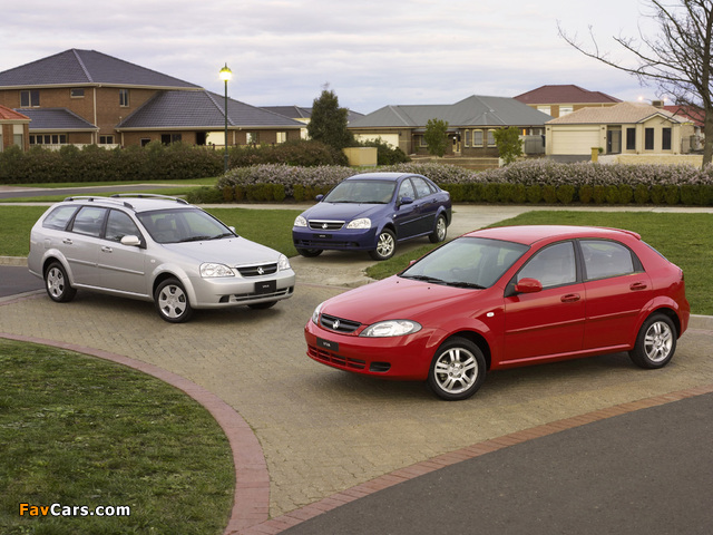 Holden Viva photos (640 x 480)