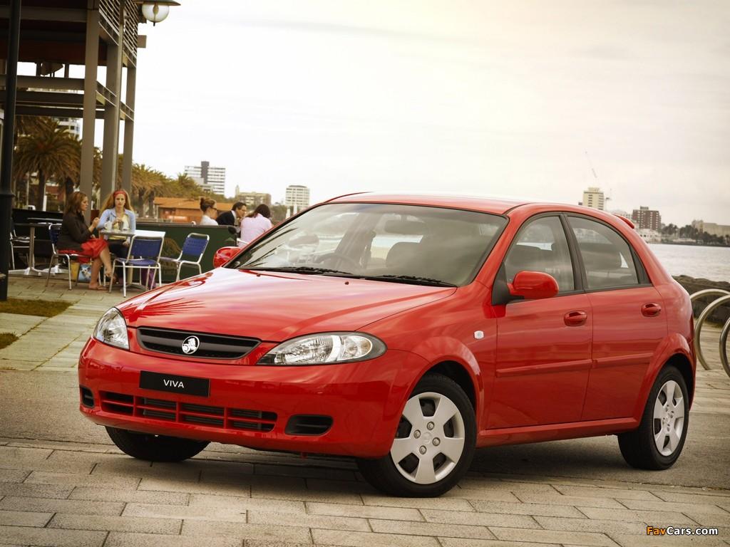 Images of Holden JF Viva Hatchback 2005 (1024 x 768)