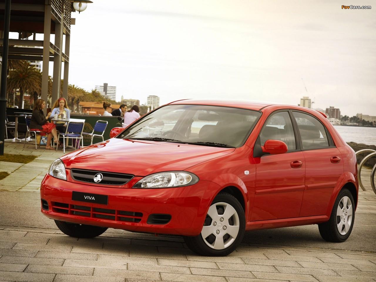 Images of Holden JF Viva Hatchback 2005 (1280 x 960)
