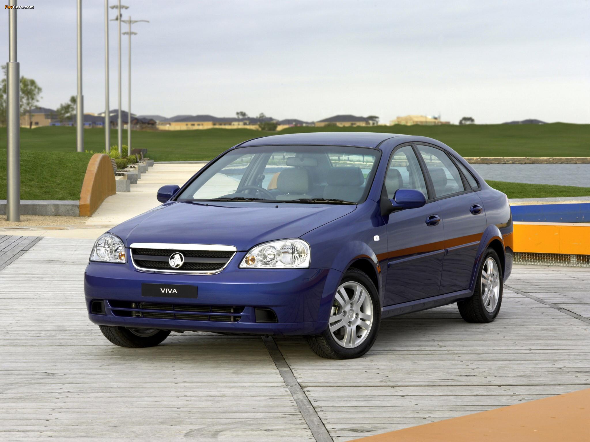 Photos of Holden JF Viva Sedan 2005 (2048 x 1536)