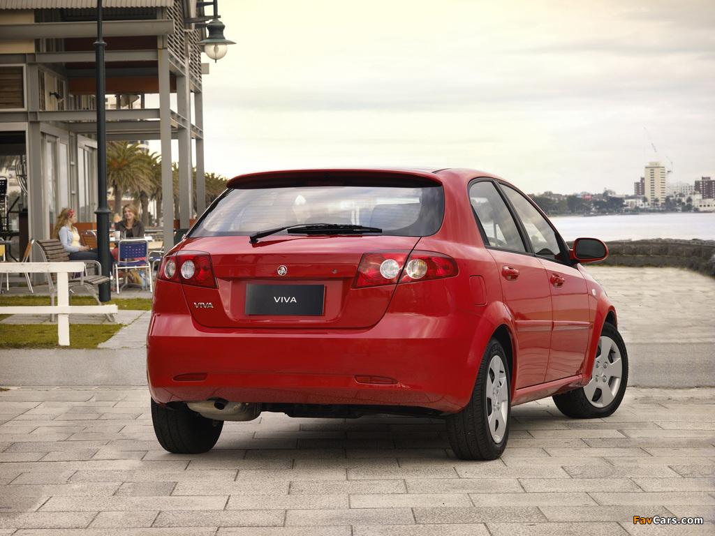 Photos of Holden JF Viva Hatchback 2005 (1024 x 768)