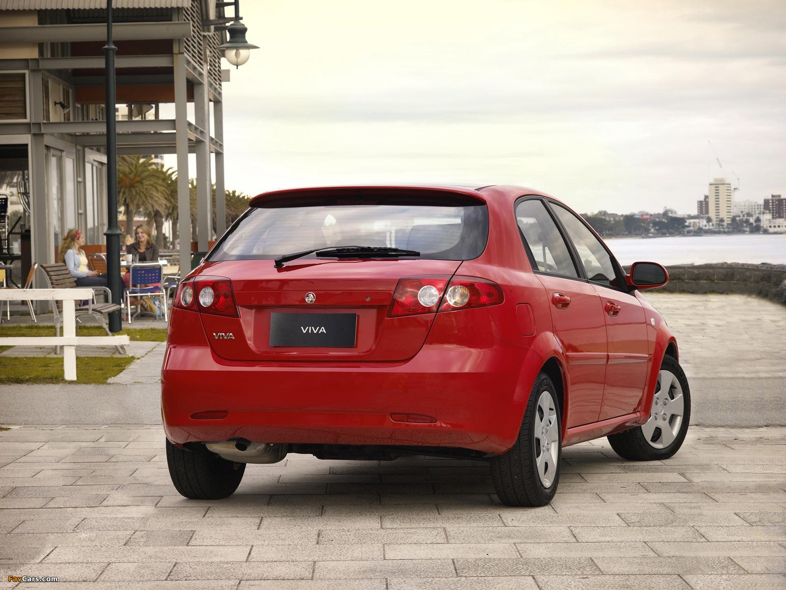 Photos of Holden JF Viva Hatchback 2005 (1600 x 1200)