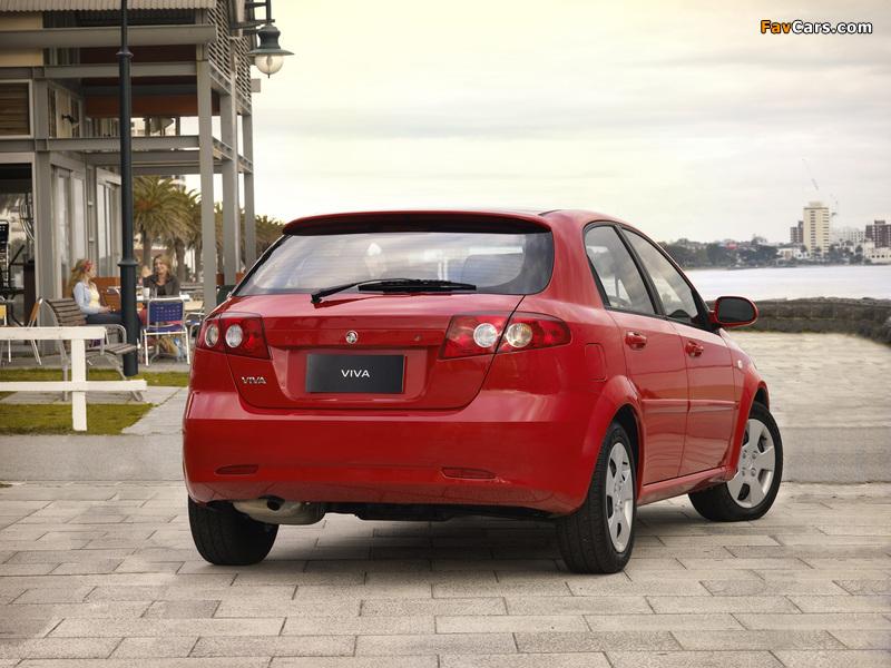 Photos of Holden JF Viva Hatchback 2005 (800 x 600)