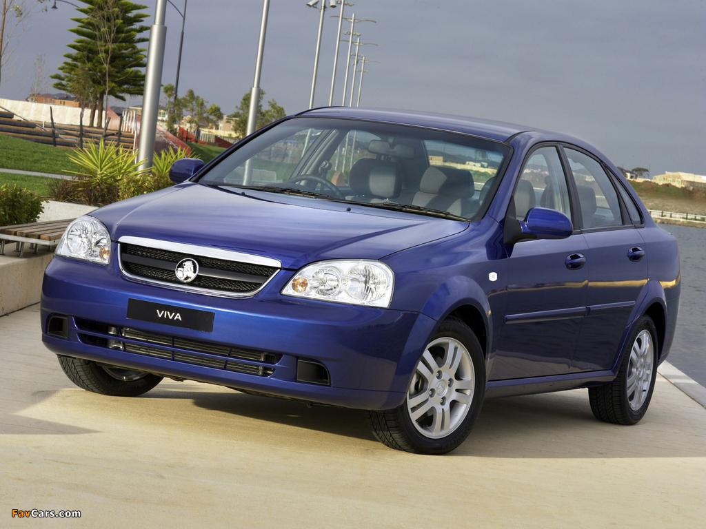 Photos of Holden JF Viva Sedan 2005 (1024 x 768)