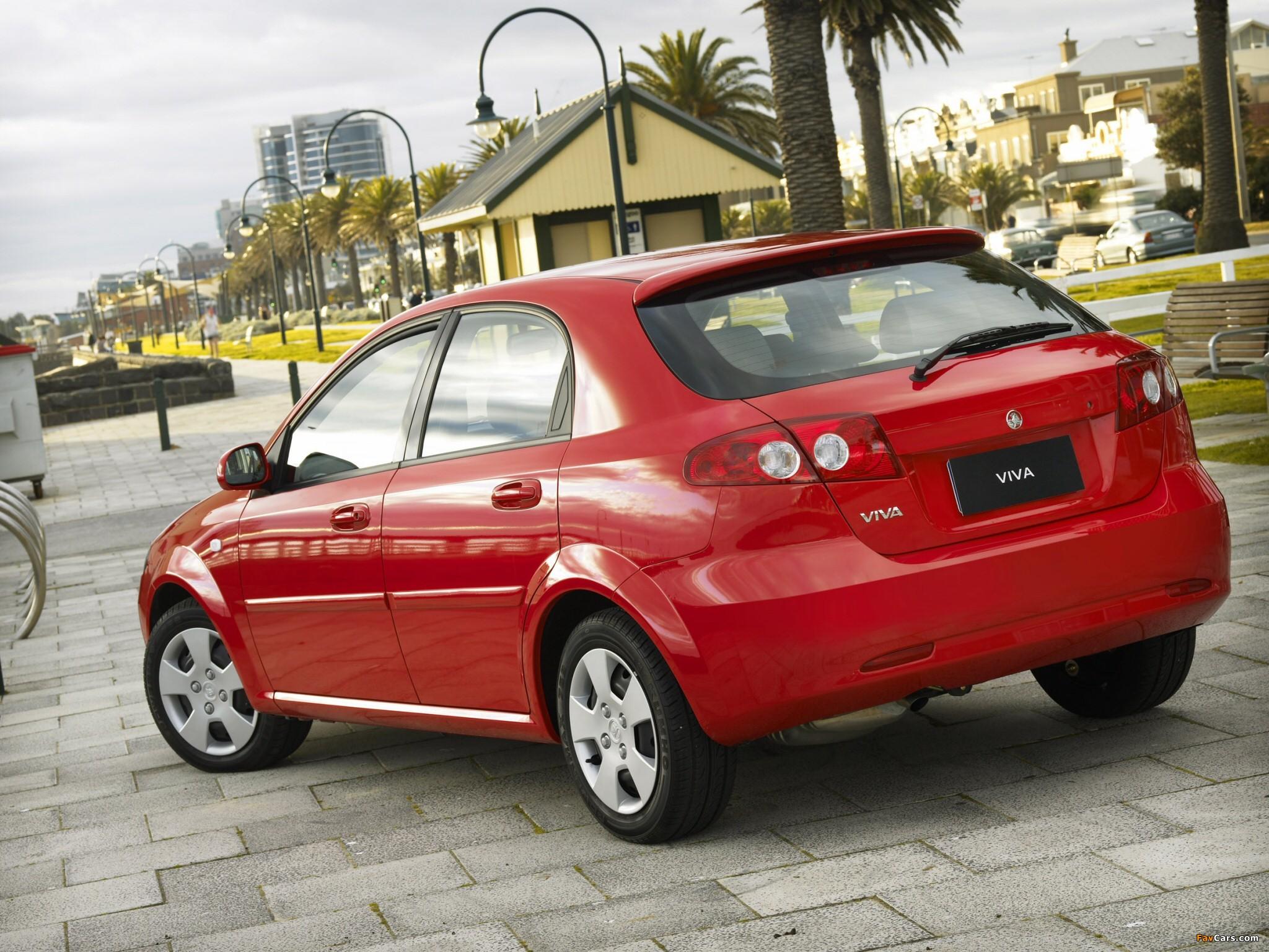Pictures of Holden JF Viva Hatchback 2005 (2048 x 1536)
