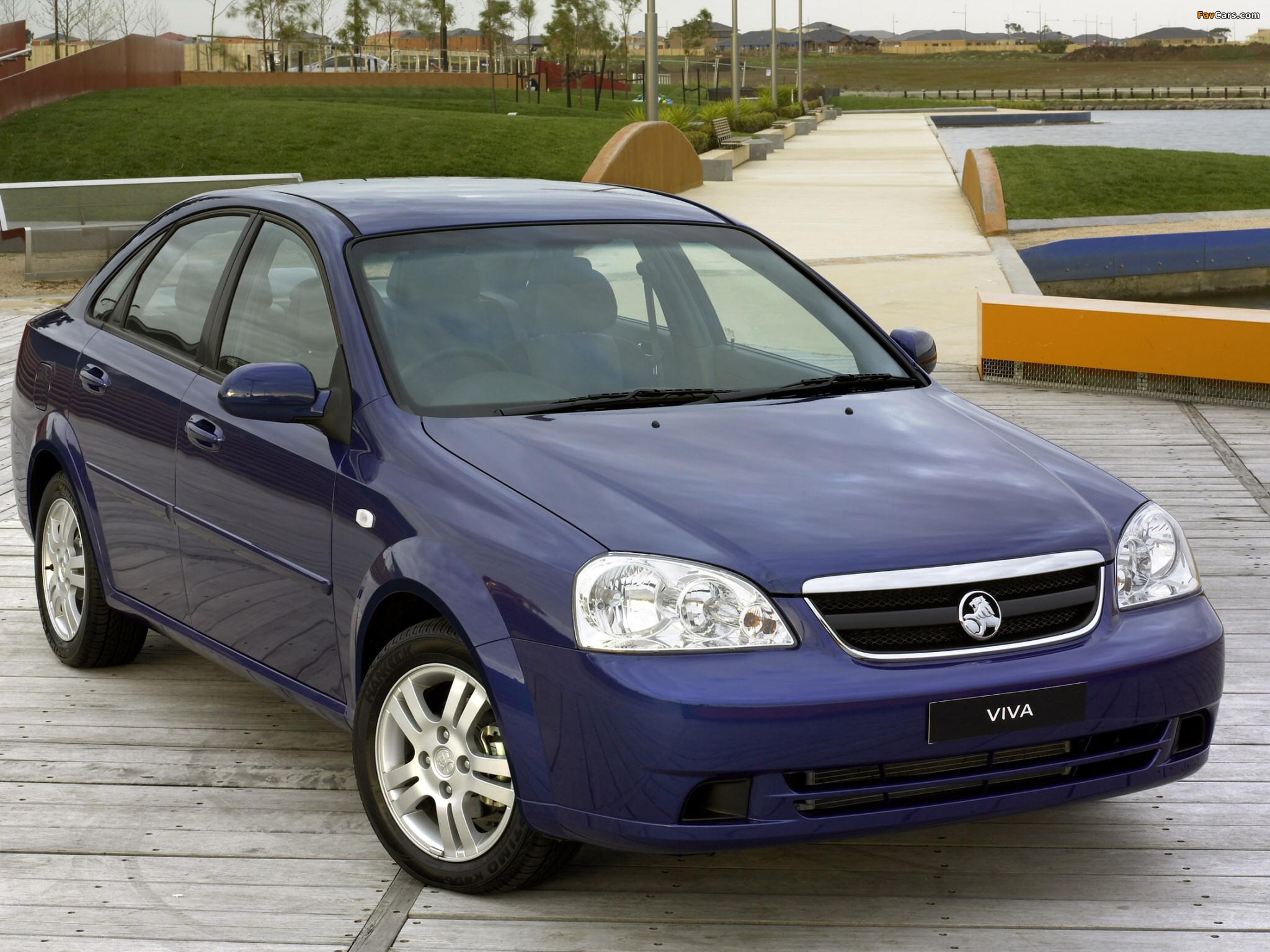 Holden JF Viva Sedan 2005 wallpapers (2048 x 1536)