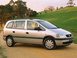 Photos of Holden TT Zafira 2001–03