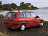 Pictures of Holden TT Zafira 2001–03