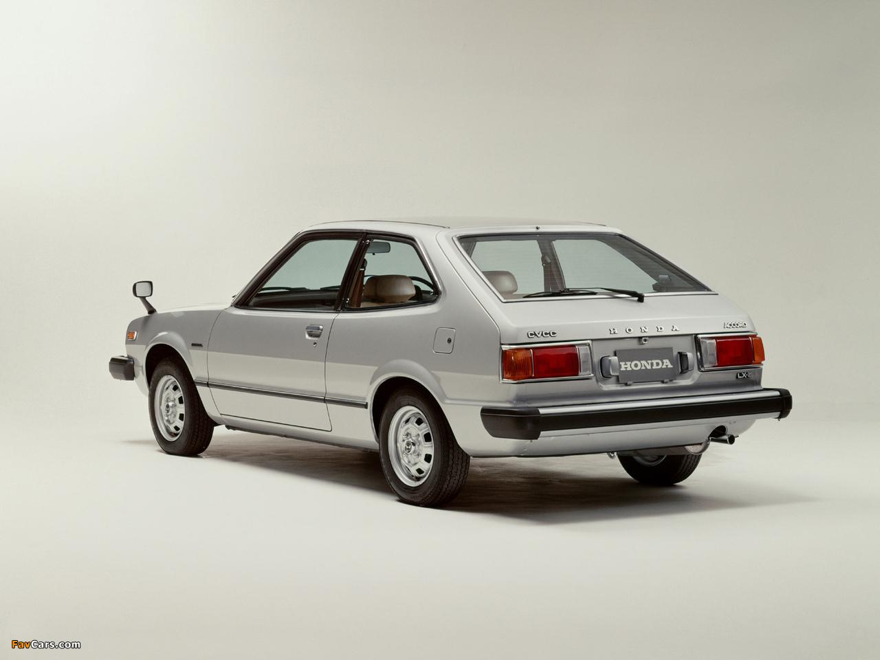 Honda Accord Hatchback 1976-81 wallpapers (1280x960)