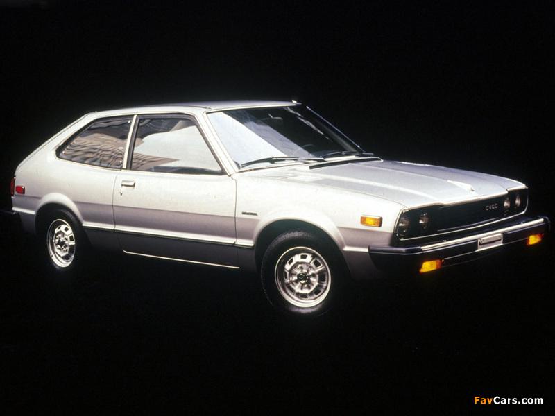 Honda Accord Hatchback 1976-81 wallpapers (800x600)
