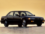 Honda Accord Sedan US-spec (CB) 1990–93 photos