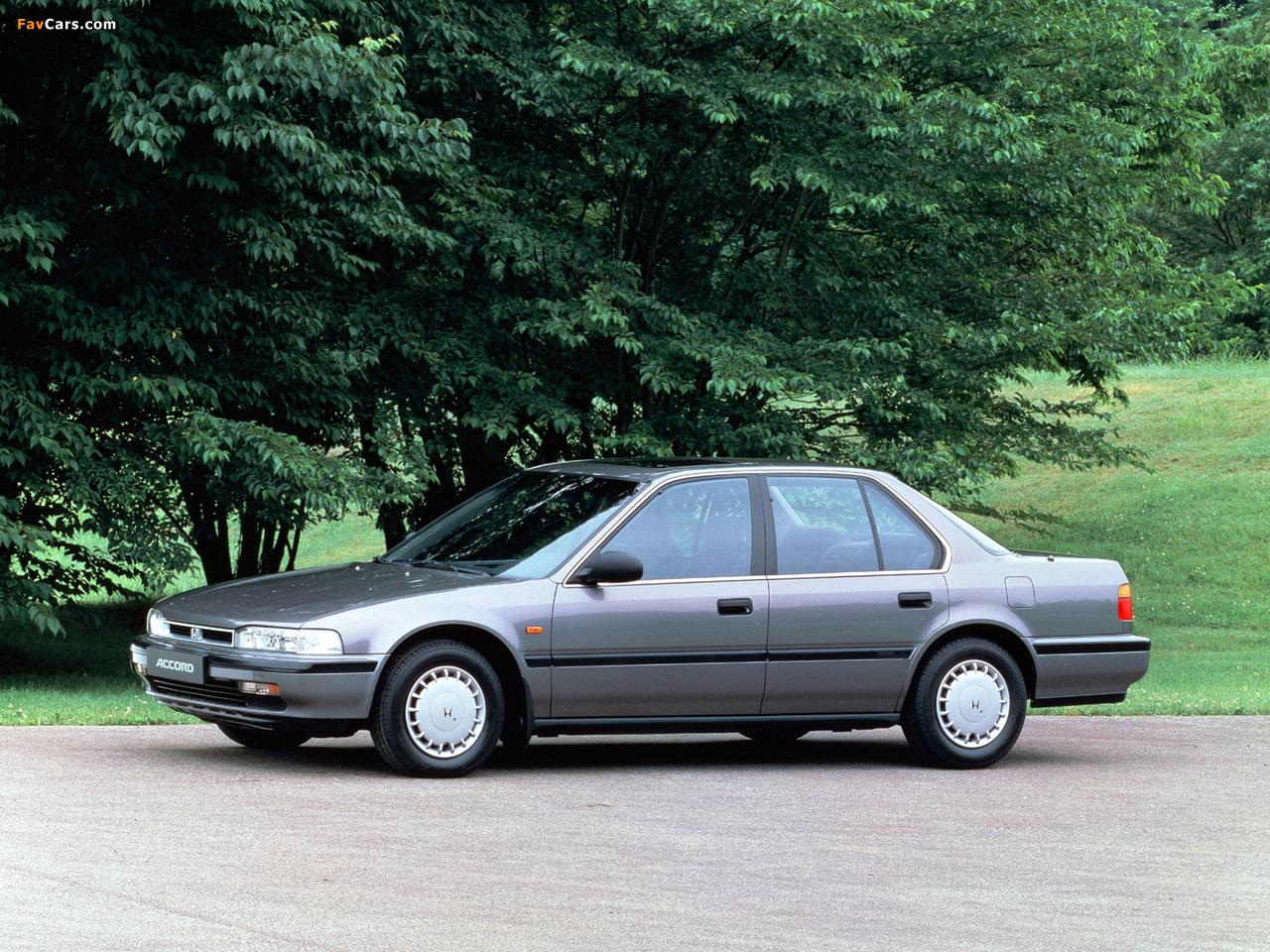 honda accord sedan cb 1990 93 wallpapers 1280x960