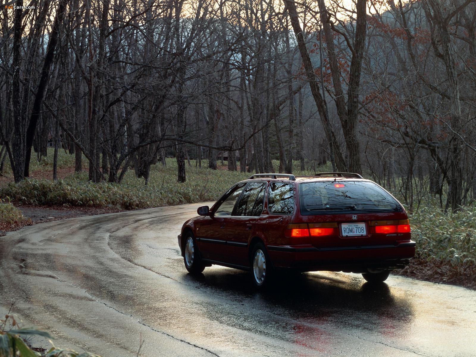 1990 honda station wagon