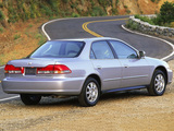 Honda Accord Sedan US-spec 1998–2002 images