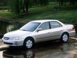 Honda Accord Sedan US-spec 1998–2002 pictures