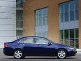 Honda Accord Sedan UK-spec (CL) 2003–06 photos