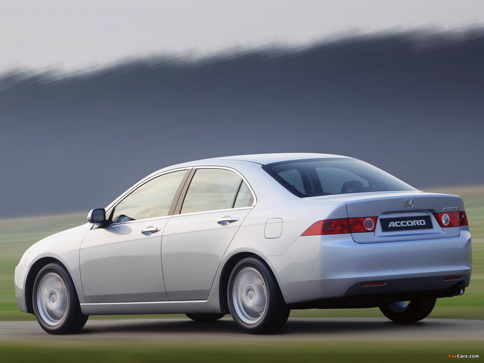 honda accord sedan cl 2003 06 pictures 1600x1200