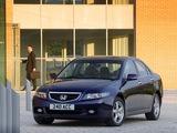 Honda Accord Sedan UK-spec (CL) 2003–06 pictures