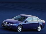 Honda Accord Sedan UK-spec (CL) 2003–06 wallpapers