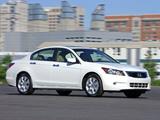 Honda Accord Sedan US-spec 2008–10 images