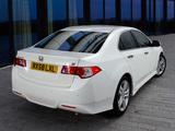 Honda Accord Type-S Sedan UK-spec (CU) 2008–11 images