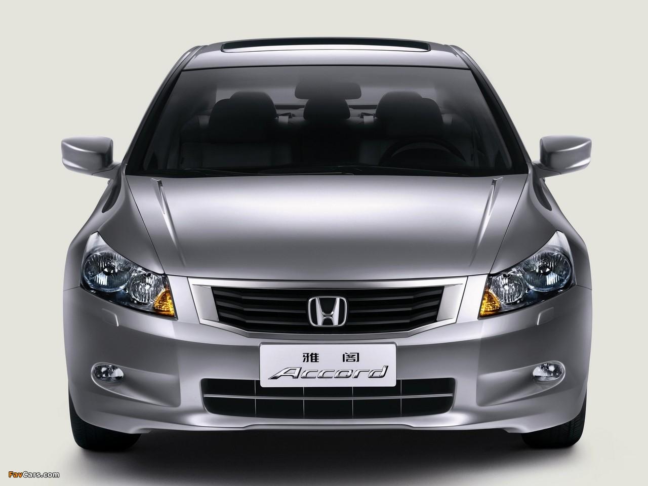 Honda Accord Sedan CN-spec 2008–11 images (1280 x 960)