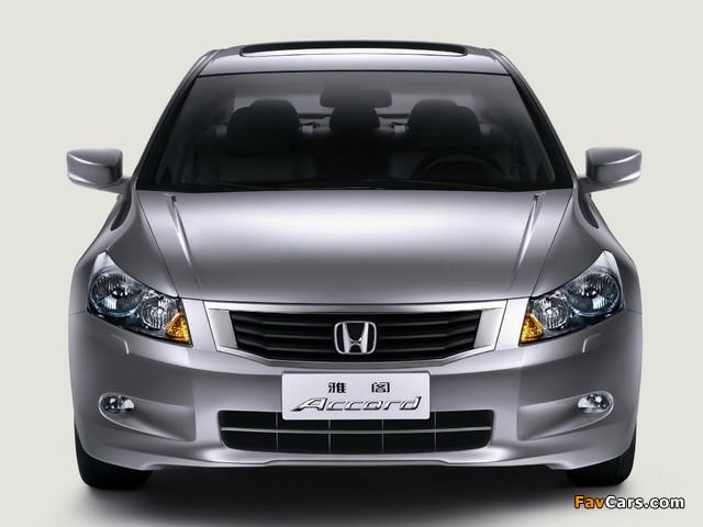 Honda Accord Sedan CN-spec 2008–11 images (640 x 480)