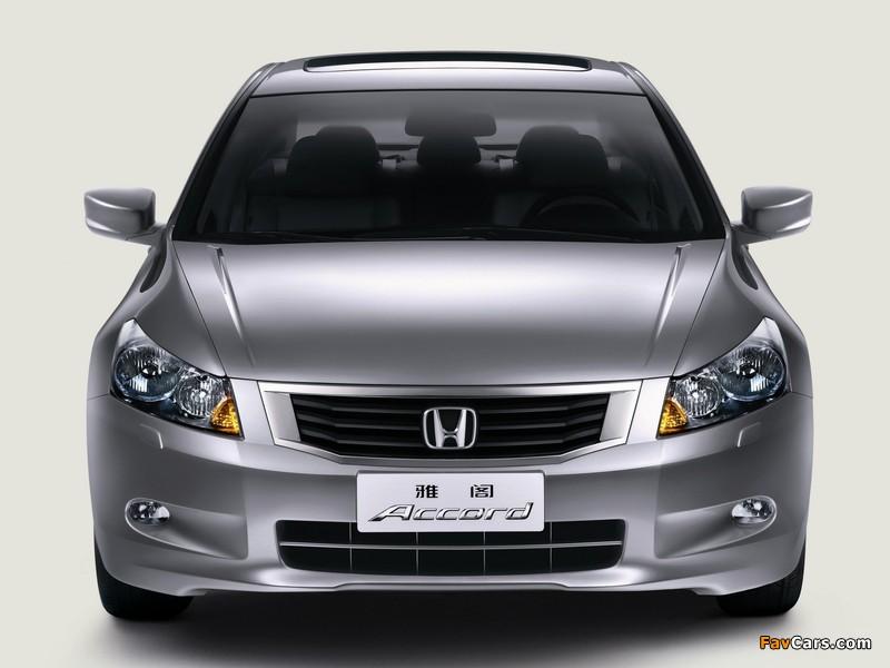 Honda Accord Sedan CN-spec 2008–11 images (800 x 600)
