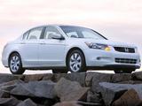 Honda Accord Sedan US-spec 2008–10 photos