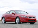 Honda Accord Coupe US-spec 2008–10 photos