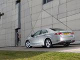 Honda Accord Sedan UK-spec (CU) 2008–11 photos