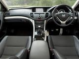 Honda Accord Sedan UK-spec (CU) 2008–11 pictures