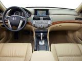 Honda Accord Sedan US-spec 2008–10 pictures