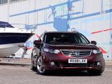 Honda Accord Type-S Tourer UK-spec (CW) 2008–11 pictures