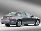 Honda Accord Sedan EX-L US-spec 2010–12 photos