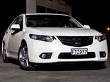 Honda Accord Euro Sedan AU-spec 2011 images