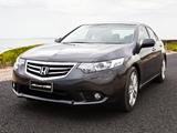 Honda Accord Euro Sedan AU-spec 2011 pictures