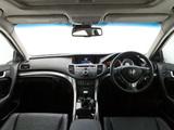 Honda Accord Euro Sedan AU-spec 2011 wallpapers